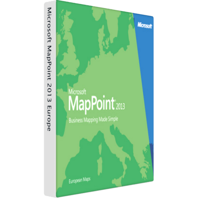 Download Microsoft MapPoint 2013 Europe Online