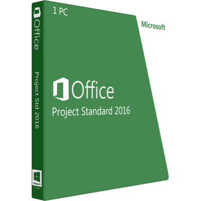 Download Microsoft Project Standard 2016 Online
